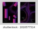 abstract banner template with... | Shutterstock .eps vector #1010577514