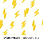 set of lightning in isometric.... | Shutterstock .eps vector #1010593411