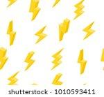 set of lightning in isometric.... | Shutterstock .eps vector #1010593411