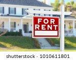 left facing for rent real... | Shutterstock . vector #1010611801