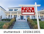 left facing for rent real... | Shutterstock . vector #1010611831