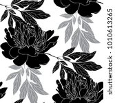 floral seamless pattern for the ... | Shutterstock .eps vector #1010613265
