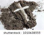 Ash Wednesday Cross. Lent....