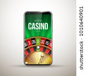 vector online poker casino... | Shutterstock .eps vector #1010640901