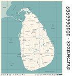 sri lanka map   vintage high...   Shutterstock .eps vector #1010666989