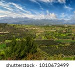 view towards the mount ida and... | Shutterstock . vector #1010673499