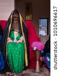 uae traditional dress for... | Shutterstock . vector #1010696617