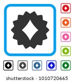 diamonds token icon. flat gray...   Shutterstock .eps vector #1010720665