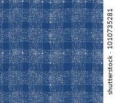 tie dye indigo seamless pattern.... | Shutterstock .eps vector #1010735281