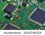 electric circuit board | Shutterstock . vector #1010746324
