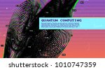 infographic big data computing... | Shutterstock .eps vector #1010747359