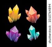 precious mineral  vector...   Shutterstock .eps vector #1010764894