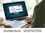 privacy access login...   Shutterstock . vector #1010767534