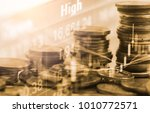 stock market or forex trading... | Shutterstock . vector #1010772571