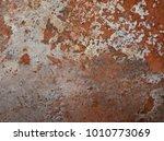 iron rust  steel rust  steel... | Shutterstock . vector #1010773069