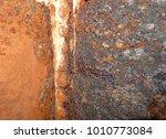 iron rust  steel rust  steel... | Shutterstock . vector #1010773084