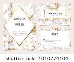 wedding invitation and thank... | Shutterstock .eps vector #1010774104