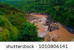 Small photo of Panorama of rapids and waterfall at Awash river, Ethiopia