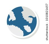 world global geography  | Shutterstock .eps vector #1010821657