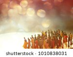 anonymous  blurred  crowd or... | Shutterstock . vector #1010838031
