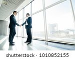 full length side view of... | Shutterstock . vector #1010852155