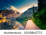 spectacular romantic place with ...   Shutterstock . vector #1010863771