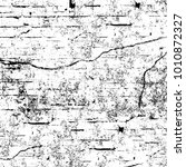 grunge black and white pattern. ... | Shutterstock . vector #1010872327