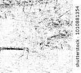 grunge black and white pattern. ... | Shutterstock . vector #1010881354