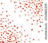 valentine background with red... | Shutterstock .eps vector #1010882209