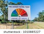 Fire Danger Rating Sign On...