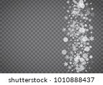 blizzard snowflake on... | Shutterstock .eps vector #1010888437