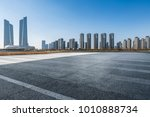 panoramic skyline and buildings ...   Shutterstock . vector #1010888734