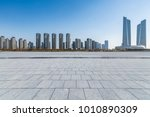 panoramic skyline and buildings ... | Shutterstock . vector #1010890309