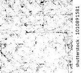 grunge black and white pattern. ... | Shutterstock . vector #1010891581