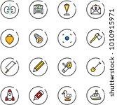 Line Vector Icon Set   Kidneys...
