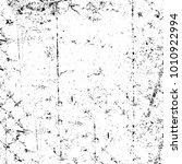 grunge black and white pattern. ... | Shutterstock . vector #1010922994
