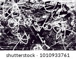 distressed background in black... | Shutterstock .eps vector #1010933761