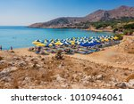 pontamos beach   most popular... | Shutterstock . vector #1010946061