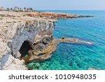 shore near monachus monachus... | Shutterstock . vector #1010948035