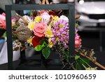 decoration flower bouquet  ...   Shutterstock . vector #1010960659