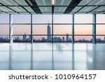 panoramic skyline and buildings ... | Shutterstock . vector #1010964157