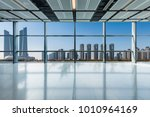panoramic skyline and buildings ... | Shutterstock . vector #1010964169