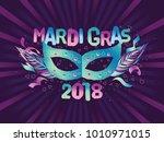 popular event mardi gras. title ...   Shutterstock .eps vector #1010971015
