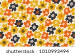 simple free drawn floral... | Shutterstock .eps vector #1010993494