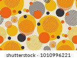 geometric circle seamless... | Shutterstock .eps vector #1010996221