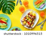 summer simple recipe for... | Shutterstock . vector #1010996515