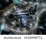 high angle aerial view of... | Shutterstock . vector #1010998771