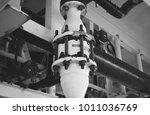 flame arrestor. black white... | Shutterstock . vector #1011036769