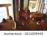 rust nut black white offshore... | Shutterstock . vector #1011039445