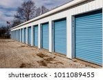 numbered self storage and mini... | Shutterstock . vector #1011089455
